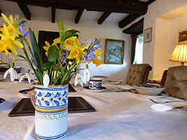 Bed and Breakfast Accommodation, Crackington, Bude, North Cornwall
